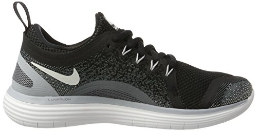 Run 2 Entrenamiento Free Grey white Negro black Para De Grey Mujer Nike Distance dark cool Zapatillas nYqtdw5qF