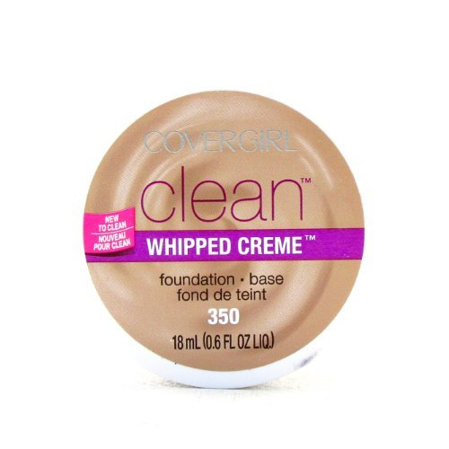 COVERGIRL Clean Whipped Creme Foundation Creamy Beige 350, 0.6 Fl Oz