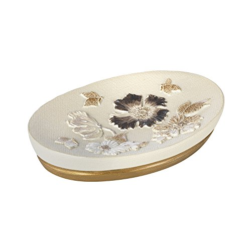 Popular Home The Dahlia Collection Soap Dish, (Dahlia Dishes)