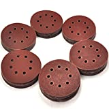 120-Piece Great Value,Sandpaper discs,sanding disc,sandpaper disc Sandpaper,5 Inch 8 Hole Hook and Loop Sandpaper Sanding Disc Sandpaper Sanding Sheets Assorted 40 60 80 120 150 240 Grits Sander