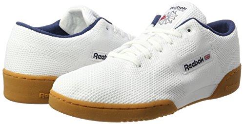 Ultk white Chaussures Navy White classic Cassé De Workout Homme Blanc collegiate Og Reebok Clean Gymnastique qwtv6Z