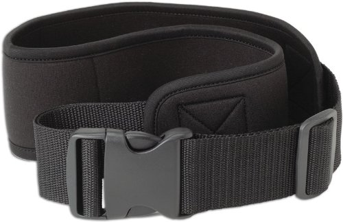 Caddis 3-Inch Black Deluxe Wading Belt