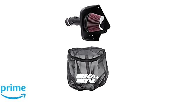 K/&N Performance Cold Air Intake Kit 69-7002TTK with Lifetime Filter for Nissan Maxima 3.5L V6