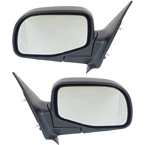 - Manual Mirror compatible with Ford Ranger 98-05/Mazda Pickup 96-05 Right and Left Side Manual Folding Paintable