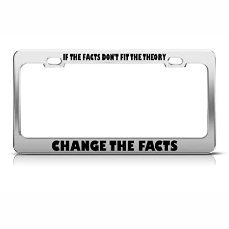 Amazon.com: If The Facts Don\'T Fit The Theory Change The Facts Funny ...