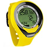 Mares Puck Pro+ Scuba Diving Wrist Computer, Yellow/Black