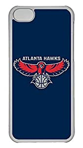 Creative GOOD 5C Case, iPhone 5C Case, Personalized Hard PC Clear Shoockproof Protective Case Cover for New Apple iPhone 5C - Nba Atlanta Hawks