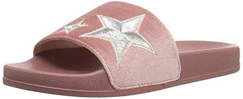 Women's Pink Velvet Slide Sugar Sandal Walton dnROxqx7