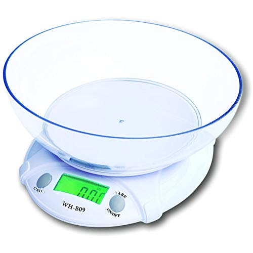 Digital ScaleLtrottedJ Digital LCD Electronic Scale 7Kg/1g with Food Disk Kitchen/Laboratory