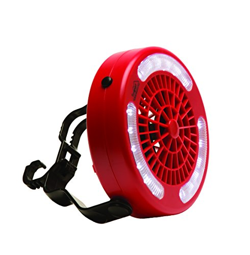 Texsport Hanging Tent Fan and Light Combo for Outdoor Camping Backpacking Hiking