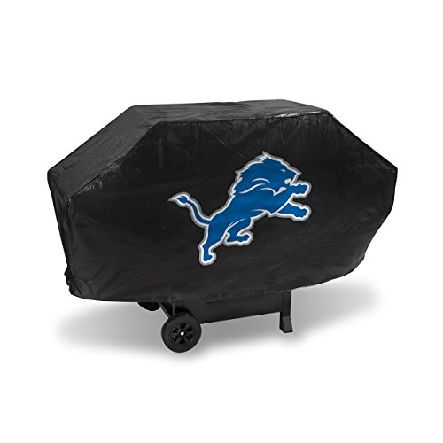- Rico Industries NFL Detroit Lions Vinyl Padded Deluxe Grill Cover