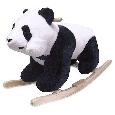 Happy Trails Panda Plush - Happy Trails Rocking Panda Bear