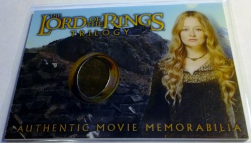 Lord of the Rings Trilogy Authentic Movie Memorabilia Cards Eowyn's Edoras Stables (Arwen Outfits)