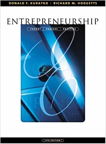 Entrepreneurship Theory Process And Practice Ebook