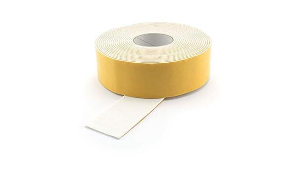 Grosor: 3 mm Cinta autoadhesiva de Fieltro Ancho: 6 mm GleitGut Longitud: 1 m Color Blanco