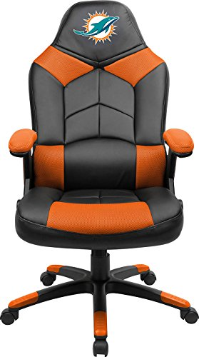 Imperial Officially Licensed NFL Furniture; Oversized Gaming Chairs, Miami Dolphins (Cheap Furniture Miami)