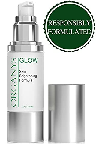 Organys Skin Brightening Cream Corrects Dark Spots Bleaches Skin Discoloration And Uneven Skin Tone Whitens Freckles Gets Rid of Acne Scars Removes Hyperpigmentation Reduces Melasma Lightens (Organic Salicylic Acid Powder)