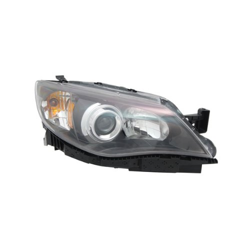 TYC 20-9121-90 Replacement Passenger Side Head Lamp for Subaru Impreza