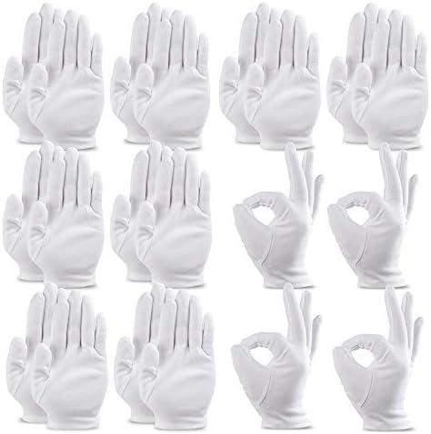 20枚入手袋 綿手袋 乾燥肌用 湿疹用 保湿用 コットン手袋 インナーコットン 手荒れ イズ