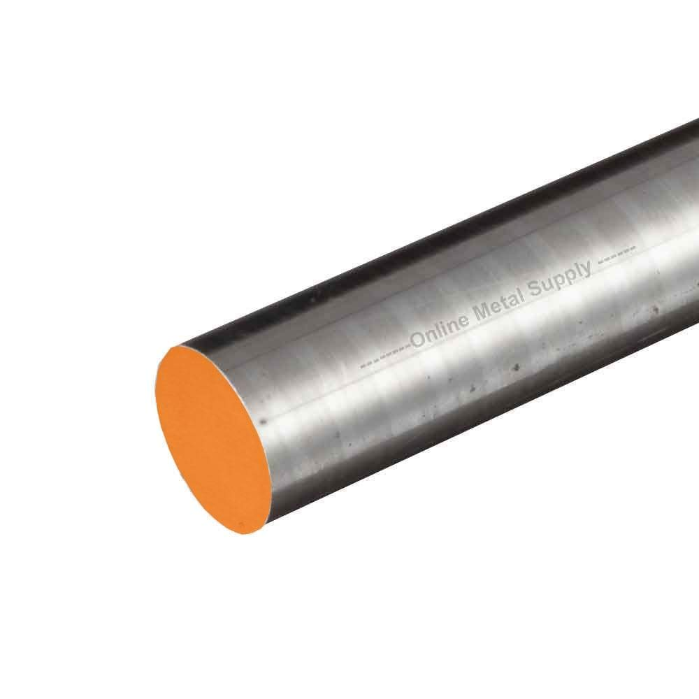Online Metal Supply S7 DCF Tool Steel Round Rod, 0.500 (1/2 inch) x 36 inches by Online Metal Supply