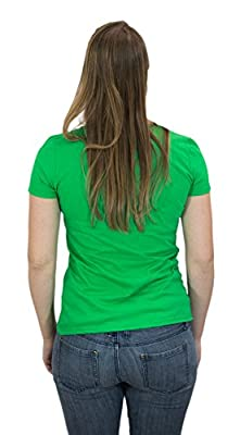 St. Patrick's Day Shamrock Suspenders | Funny St. Paddy Irish Ladies' T-shirt
