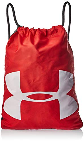 Under Armour Unisex Ozsee Sackpack, Red (600)/White, One Size Fits All