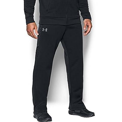 Under Armour Men's Storm Armour Fleece Pants, Black/Graphite, XX-Large