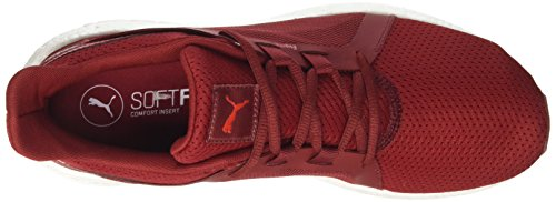 Puma Herren Mega Nrgy Turbo 2 Cross-Trainer Outdoor Fitnessschuhe Rot (Red Dahlia-Flame Scarlet)