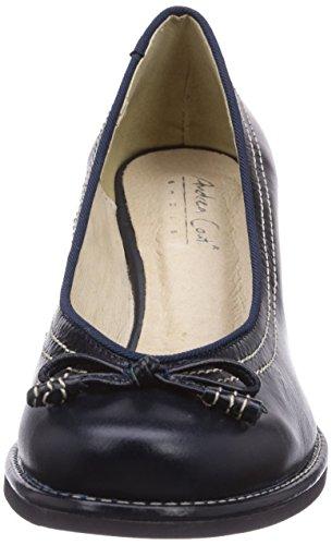 Conti Pieds Bleu Talons 598007017 Femme Blau 017 Couvert Du Andrea Avant Chaussures À dunkelblau 14H6xwxanq