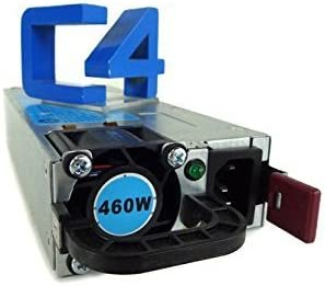 HP 593188-B21 599381-001 591555-101 591553-001 460W Common Slot Platinum Hot Plug Power Supply Unit For Proliant G6 /& G7 Bulk Package
