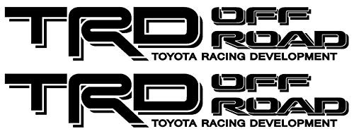 5RiverDesigns Toyota TRD Off Road 4x4 Tacoma Sticker Decal Black