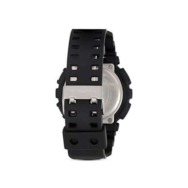 Casio Reloj Analogico-Digital para Hombre de Cuarzo con Correa en Resina GA-100MB-1AER 6