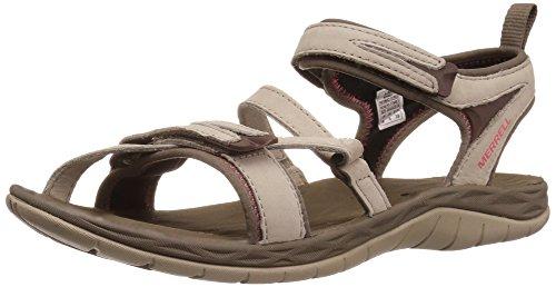 Merrell Women's Siren Strap Q2 Athletic Sandal, Aluminum, 7 M US