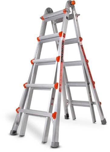 Little Giant Ladder Systems 10403 22-Feet Super Duty M22 375-Pound Duty Rating, Aluminum