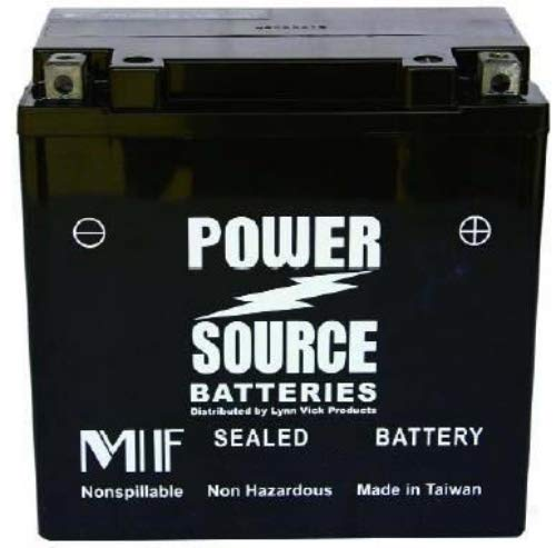 (2001-2010 Suzuki VL800/C/T Volusia, Boulevard C50/C50T Motorcycle High Performance Sealed Battery )