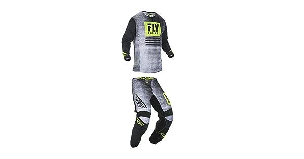 Amazon.com: Fly Racing Youth Kinetic Noiz Motocross ...