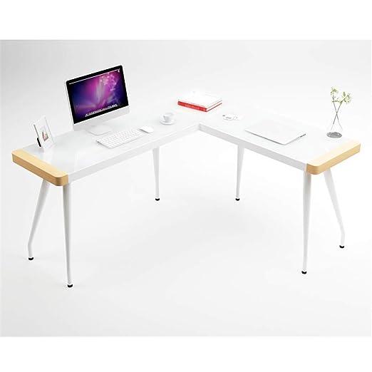 TYI Mesa de Esquina Escritorio de computadora en Forma de L ...