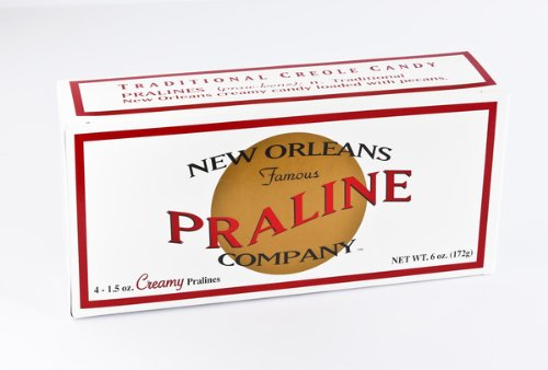 - New Orleans Famous Praline Company Creamy 4 Pack!