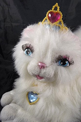 2004 Interactive Barbie Talking Serafina Princess Cat 12-inch-long Electronic Cat---with Animated Cat-like Movements and More Than Two Minutes of Speech, This Fluffy Friend Takes Interacting to New Heights---she Comes with - Barbie 2004