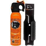 Udap Bear Spray Safety Orange with Color Griz Guard Holster