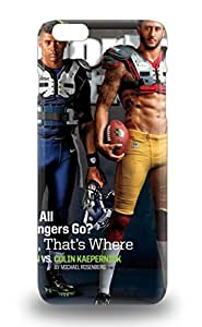 For Iphone 6 Plus Protector 3D PC Soft Case NFL San Francisco 49ers Colin Kaepernick #7 Phone Cover ( Custom Picture iPhone 6, iPhone 6 PLUS, iPhone 5, iPhone 5S, iPhone 5C, iPhone 4, iPhone 4S,Galaxy S6,Galaxy S5,Galaxy S4,Galaxy S3,Note 3,iPad Mini-Mini 2,iPad Air )