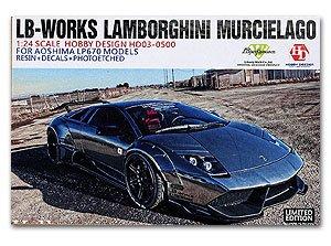 1/24 ランボルギーニ ムルシェラゴ LB-ワークス LP670 アオシマ ディティールアップキット Hobby Design HD03-0500の商品画像