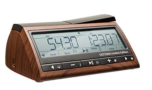 DGT 3000 Limited Edition - Wooden Look Digital Chess Timer - New Chess - Dgt Chess Clock