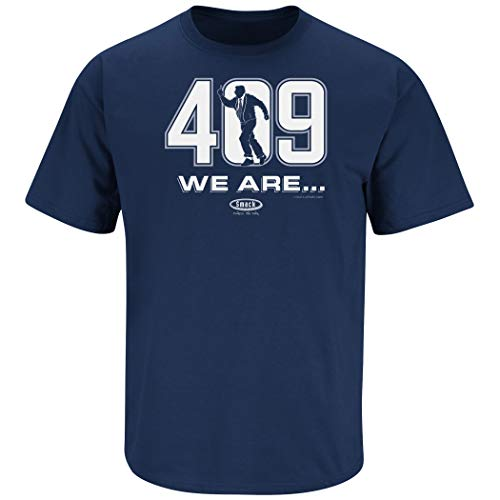 Penn State Football Fans. We are 409 Navy T-Shirt (Sm-5X) (Short Sleeve, X-Large)