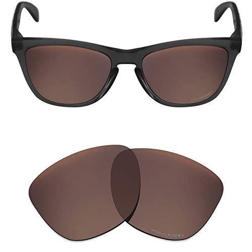 Mryok+ Polarized Replacement Lenses for Oakley Frogskins - Bronze Brown ()