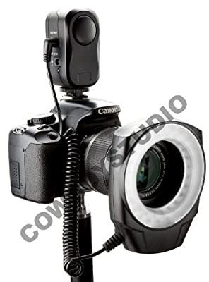 CowboyStudio Macro Ring LED Light, Compatible with Canon/Sony/Nikon/Sigma lenses by Cowboy Studio