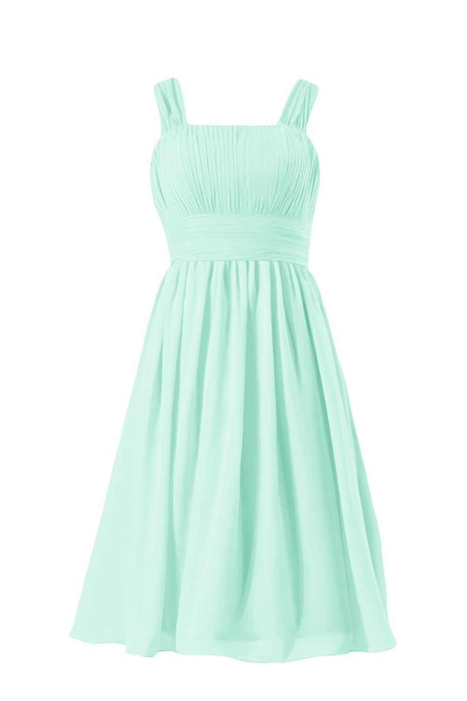 DaisyFormals Vintage Chiffon Party Dress Flowing Bridesmaids Dress (BM913)