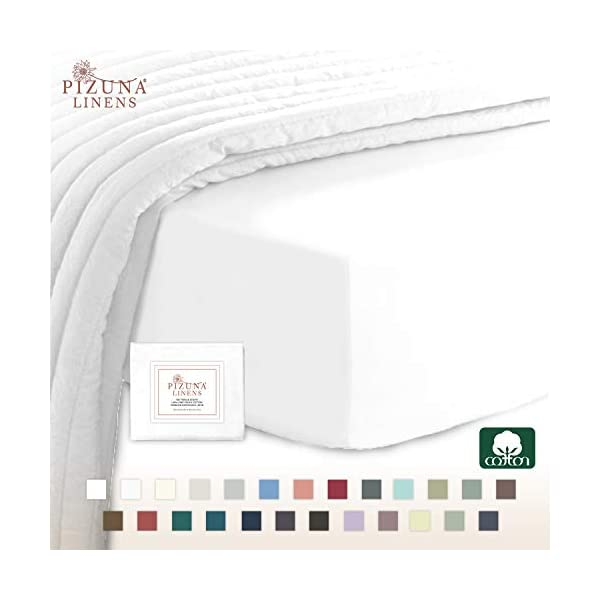 400 Thread Count Cotton Fitted Sheet