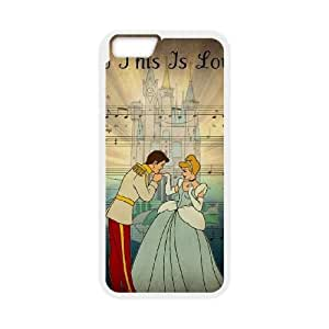 Cinderella iPhone 6 Plus 5.5 Inch Cell Phone Case White Gift pjz003_3184947