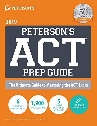 Pdf Test Preparation Peterson's ACT Prep Guide 2019